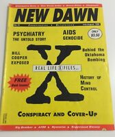 NEW DAWN MAGAZINE #31 1995 Real Life X-Files Bill Cooper Conspiracy & Cover -Ups