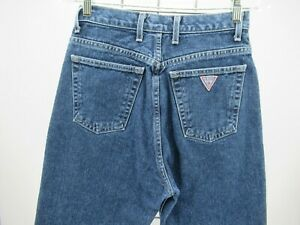 P4193 VTG Women's Guess High Waisted Mom Jeans Made In USA Size 28