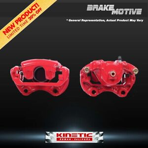 For Nissan Rogue Suzuki Kizashi Front Red Powder Coated Brake Caliper Pair