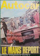 Autocar 15 June 1967 - Road Test: Singer Gazelle - Full 1967 Le Mans Report