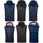 Bolf chaleco chaqueta sin mangas de los hombres transición Capucha MIX 4d 4