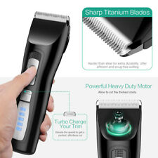 Electric Cordless Pet Cat Dog Low Noise Trimmer Hair Shaver&Grooming Clipper Kit