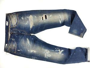 We Are Replay  Romeo Regular Slim Straight Fit Used Denim  Designer Jeans Herren