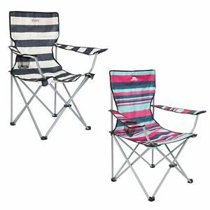 Trespass Adults Folding Camping Chair With Cup Holder