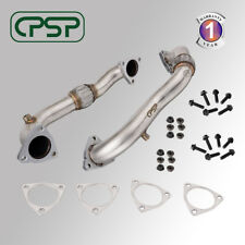 Heavy Duty Polished Up Pipes For 2008-2010 Ford 6.4L Powerstroke Diesel No EGR
