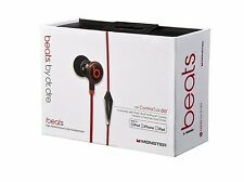 Genuine Monster Beats by Dr Dre iBeats Headphones Earphones Earbuds In BLACK
