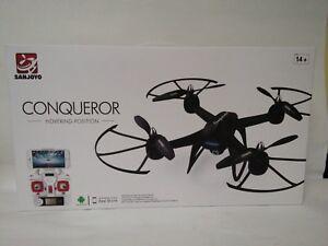 Sanjoyo SJY 009HW 2.4G Wifi FPV Drone 2MP Quadcopter Plane Helicopter IR RC Play