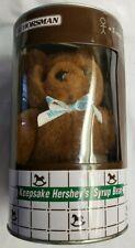 1998 Vintage Horseman Hershey's Syrup Plush Bear & Toy Bank