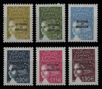St. Pierre & Miquelon 2003 - Mi-Nr. 888-893 ** - MNH - Freimarken / Definitives