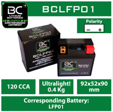 BC Batteries Motorcycle Battery Lithium Replacement Performance - BCLFP01