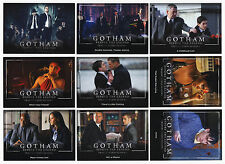 2016 Cryptozoic Gotham Complete 72 Card Base Set + All 3 Chase Card Sets