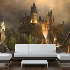 """Wall removable sticker hogwarts harry potter painting vinyl mural 94""""x121"""""""