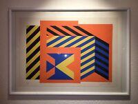 Hajek Kunstdruck Bild Xerigraphie von 1970 Limitierte Auflage