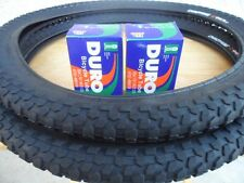 "20 x 2.0 BMX Bike Tires +Tubes Freestyle Dirt Jump Plywood Street 20""x 2.0"" NEW"