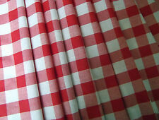 RED Check Gingham VW CAMPER VAN Curtains T2 T4 T5 T25 Orders Welcome *Lined*