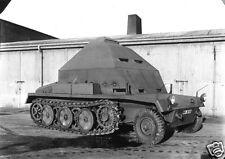"German Army Modified Halftrack Peenemunde 1940 World War 2, Reprint Photo 5.5x4"""