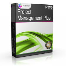 Project Management MS Microsoft 2013 2016 Compatible Software - BOXED AS SHOWN!