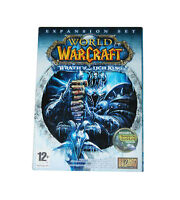 World of Warcraft Wrath of The Lich King Expansion Pack PC New Sealed