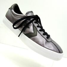 Converse Womens 8 EU 39  555950C Silver Metallic All Stars Lo Top Sneakers Shoes