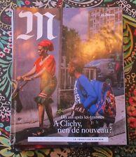 Le magazine du MONDE  10-2015 / CLICHY sous BOIS ; les GOTHAM KNIGHTS de NYC