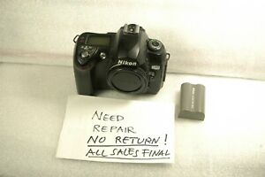 USED Nikon D70 6.1MP DSLR Body works, Please read