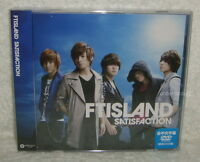 F.T Island FTIsland SATISFACTION Taiwan Ltd CD+DVD (Ver.B)