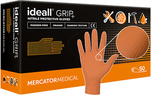 Nitrilhandschuhe M-XXL Einweghandschuhe Nitril Handschuhe Latexfrei GRIP+