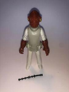 Admirak Ackbar Return of the Jedi Kenner Vintage Action Figure - Complete
