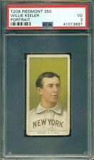 T206 Willie Keeler Portrait * PSA 3 * Piedmont 350 - Hall of Fame-Centered 50/50