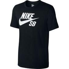 Nike SB Icon Logo T-Shirt Black White Sz 2XL 821946-013
