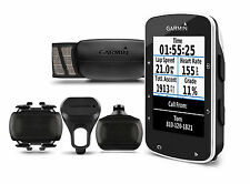GARMIN EDGE 520 BUNDLE Cycling Computer GPS Cadence Heart Rate USB New FREE SHIP