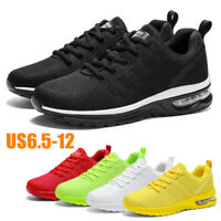 Men's Air Cushion Sneakers Casual Sports Trainers Running Tennis Walking Shoes