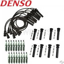 Dodge Ram Pickup 5.7L Hemi Tune Up Kit 16 Spark Plugs Ignition Wires & COP Boots