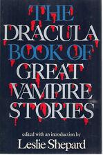 THE DRACULA BOOK OF GREAT VAMPIRE STORIES (1977) Citadel Press SC Stoker etc.