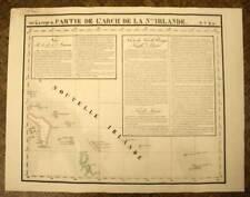 ARCHIPEL DE LA NOUVELLE IRLANDE carte geographique de VANDERMAELEN 1827