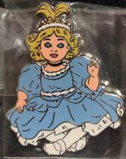 Rare Official UnReleased Creepy Disney Prototype Pin Cinderella Doll Le Heroine