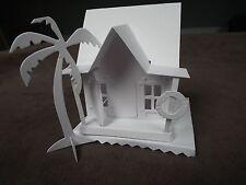 Tim holtz sizzix village dwelling surf shack die cut kit house building precut