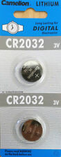 2pcs CR2032 3V Lithium Button Coin Cell Battery Electronics Watch Camera Toy