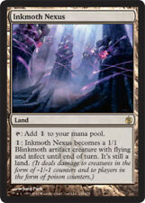 1x Inkmoth Nexus - Foil Light Play, English Mirrodin Besieged MTG Magic