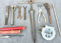 Mixed Lot vintage hand tools clamp torch machinist extension Wrench Barn Find XK