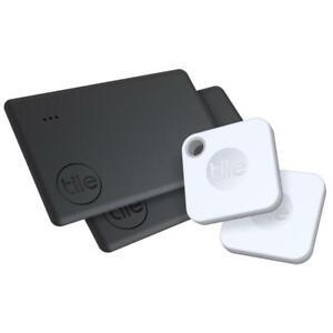 Tile Mate + Slim Bluetooth Tracker (2020)[4 Pack]