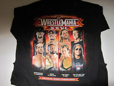 WWE WRESTLING WRESTLEMANIA XXVI SHIRT,UNDERTAKER,CENA,HBK,EDGE,HART,JERICHO,NEW