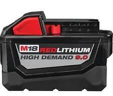 Milwaukee M18 18V Red Lithium High Demand 9.0Ah Battery (6 Pack)