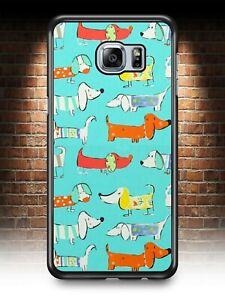 SAUSAGE DOG DACHSHUND PHONE CASE SAMSUNG S3 S4 S5 S6 S7 EDGE S8 S9 S10 PLUS