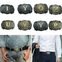 Aalphabet Letter Western Bolo String Tie Initial Letters A-Z Bolo Tie Gold Background for Men for Women necktie R
