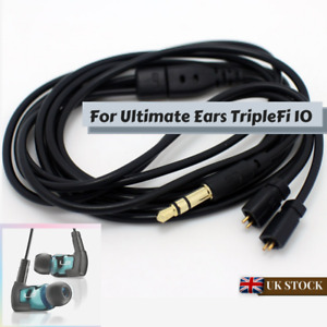 New replacement Audio Cable with Mic For Ultimate Ears UE TF10 SF3 5EB 5PRO 15vm