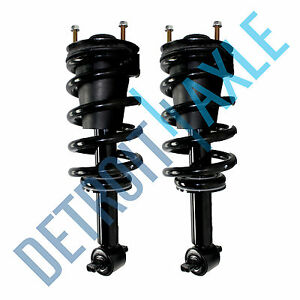 BROSCONE S0497-S0498 2 Pieces 1 Pair Front Suspension Shocks Complete Struts And Coil Spring Assembly Fits 2006 2007 Saturn Vue
