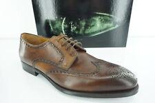 Magnanni Brown Leather Bosca Wingtip Oxfords Dress Shoes size 12 New Men's