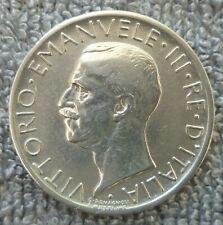 ITALIE: 5 lire -1927- argent -4,95 g -état TTB/SUP