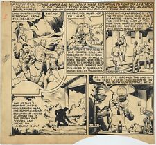 HAL FORREST Original FOUR ACES Sunday Comic ART, November 24, 1940